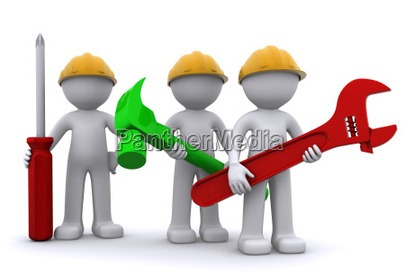 team, of, construction, worker, with, equipment - 5108033