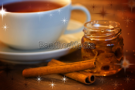 tea time with rock candy