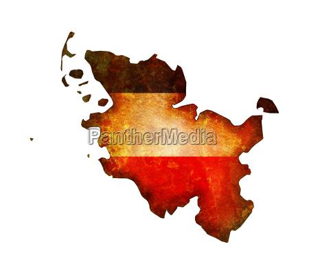 schleswig holstein map