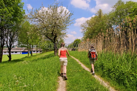 hiking on the ludwig canal