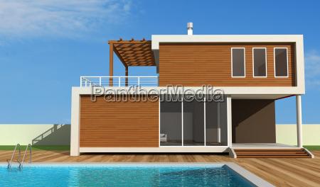 contemporary holiday villa