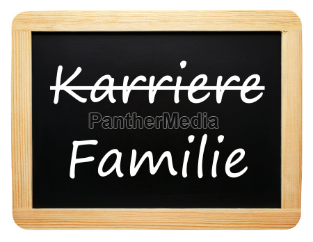 career and family