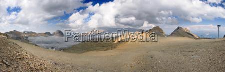 switzerland plaine morte overview