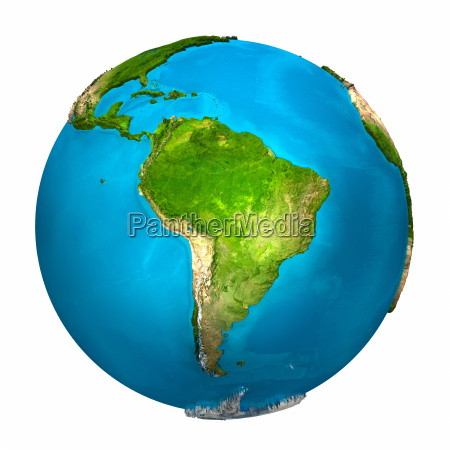 planet earth south america