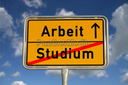 german sign for course work