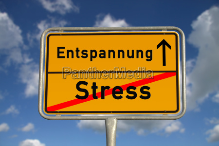 german, town, sign, stress, relaxation - 5170257