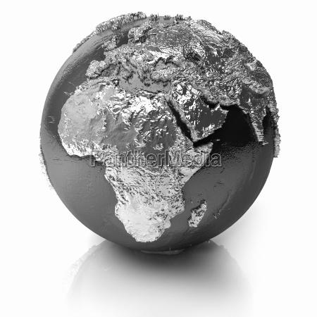 silver globe africa