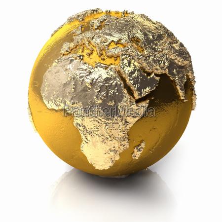 gold globe africa
