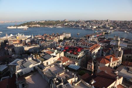 istanbul panorama turkey