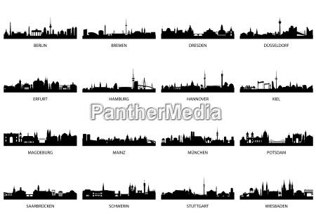 germany main cities
