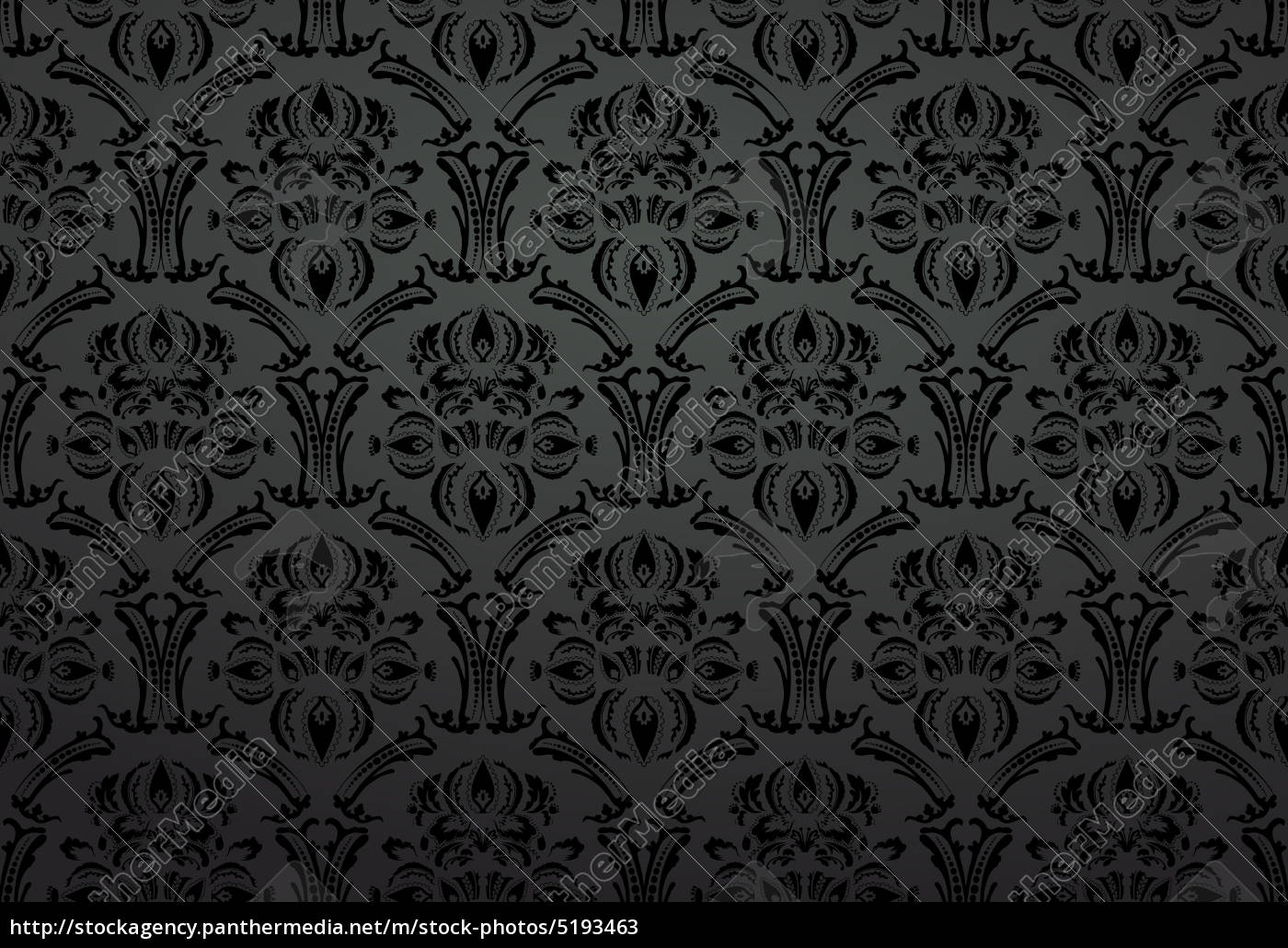 Fabric Wallpaper Ornament Black Stock Photo 5193463 Panthermedia Stock Agency