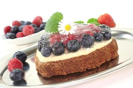 forest fruit tart