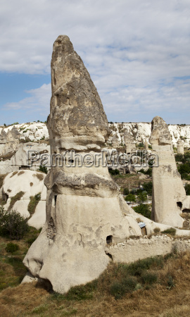 fairy chimneys goreme cappadocia turkey