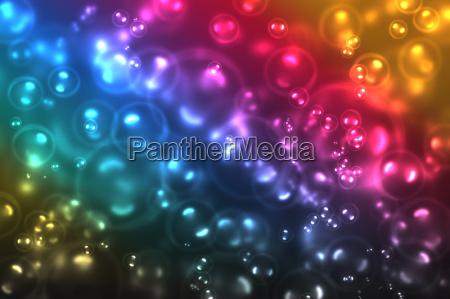 shiny transparent circles