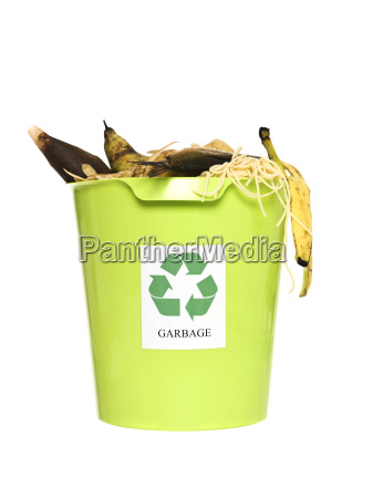 recycling bin with ort