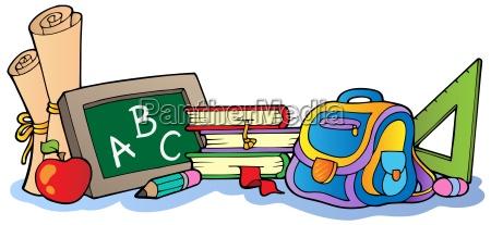 various school supplies 1