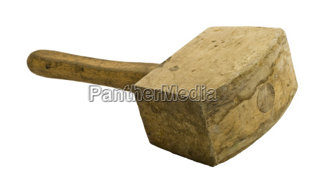 used wooden hammer