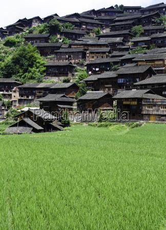 chinese minority village