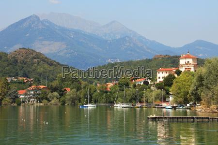 view on lago di avigliana lago