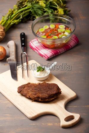 tafelspitz und suppe