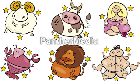 six overweight zodiac signs