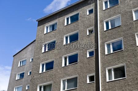 city apartment house