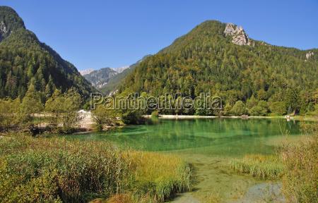 in the triglav mountains near kranjska