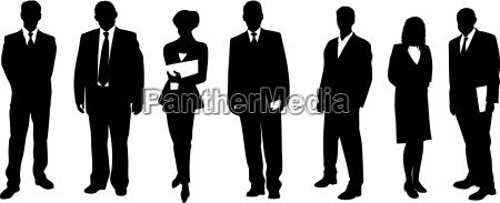 human silhouettes