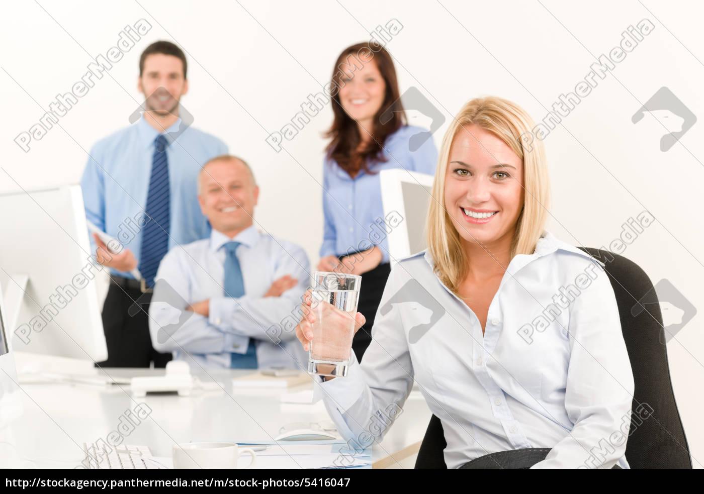 business, team, pretty, young, businesswoman, portrait - 5416047