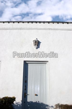 blue grey front door