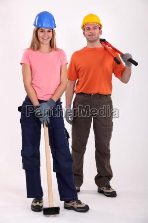 a couple of handyman