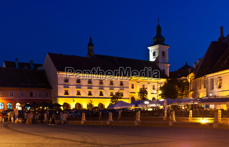 sibiu night view