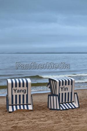 beach chair yin and yang