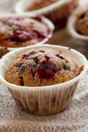 raspberry muffins