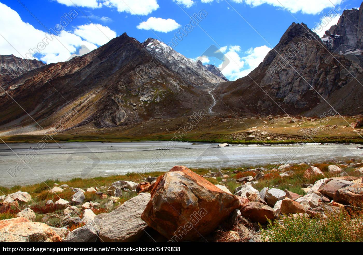 zanskar, valley, india - 5479838