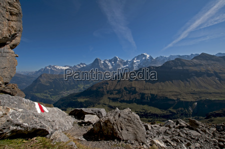 virgin massif from the point of