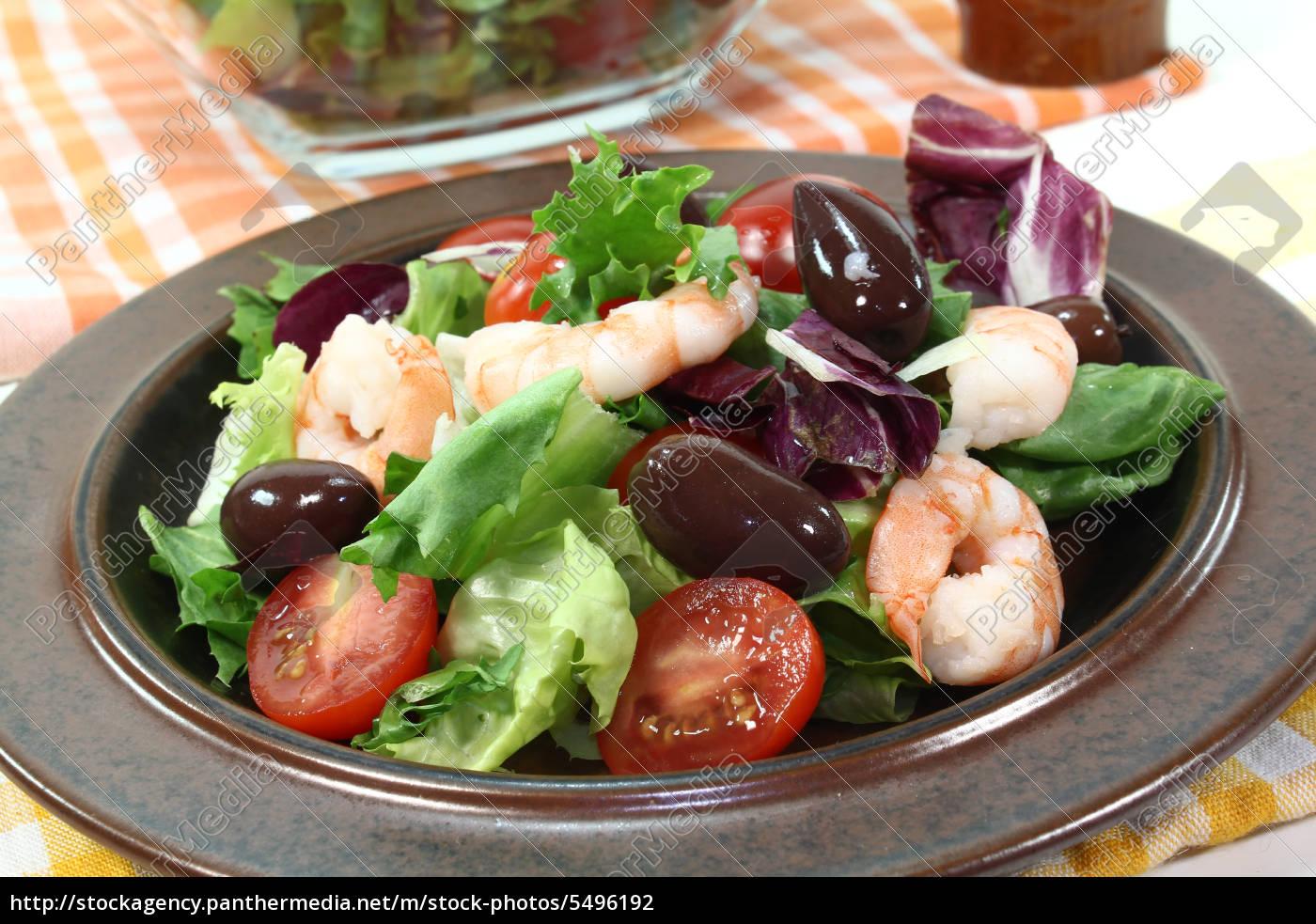 mixed, salad - 5496192