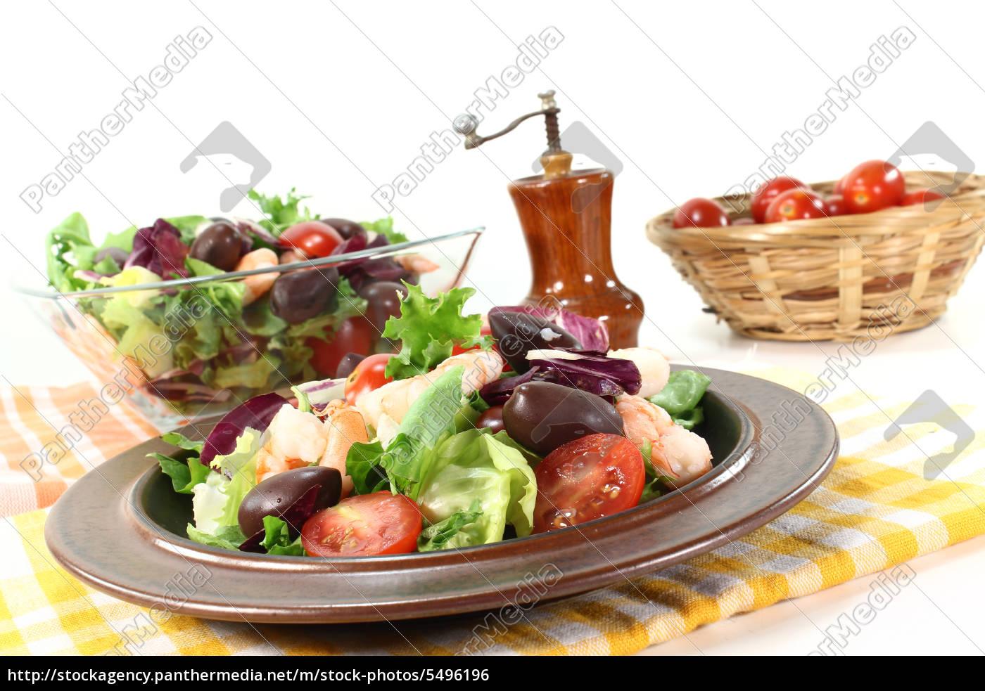 mixed, salad - 5496196