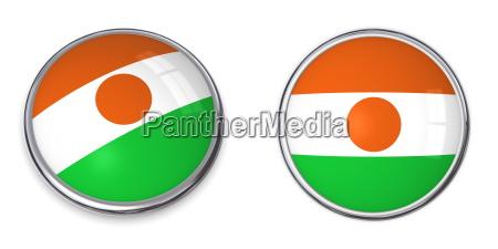 banner, button, niger - 5497650
