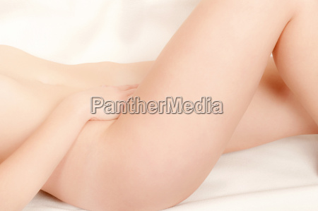 classical closeup of a nude woman