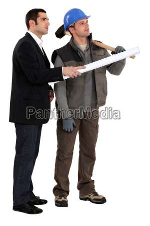 a carpenter and his foreman