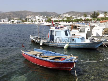 bodrum fishing port