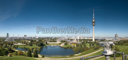 the munich olympic park