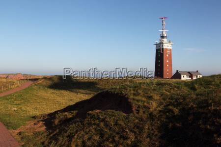 lighthouse of heligoland
