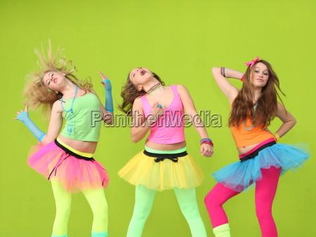 teens dancing at birthday party