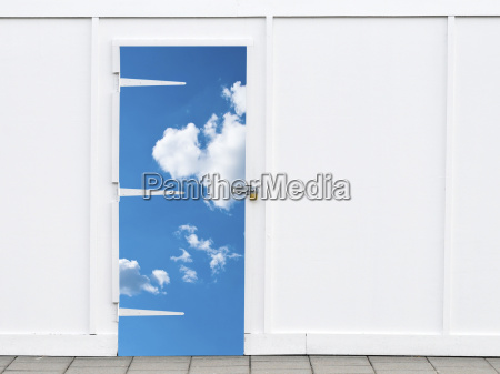 shut sky door