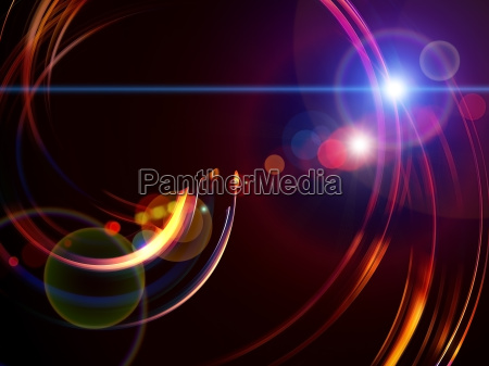 three dimensional swirl abstract