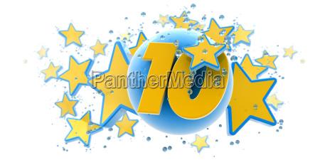 azul fiesta celebracion regalo decoracion goteo