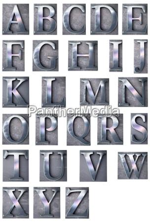 typescript alphabet upper case