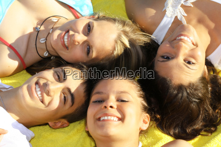 white perfect teeth happy smiling faces